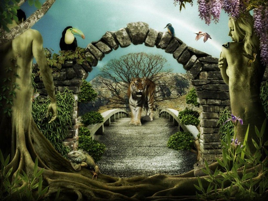 Garden Of Eden Free Garden Of Eden Adam And Eve Wallpaper Download The Free Garden