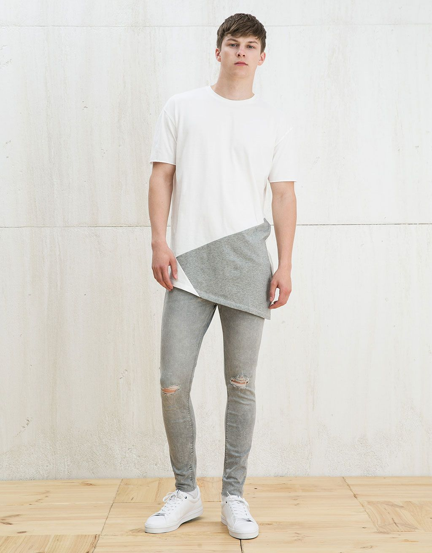 Jeans super skinny lavado - Novedades - Bershka Colombia | LOOKS ...