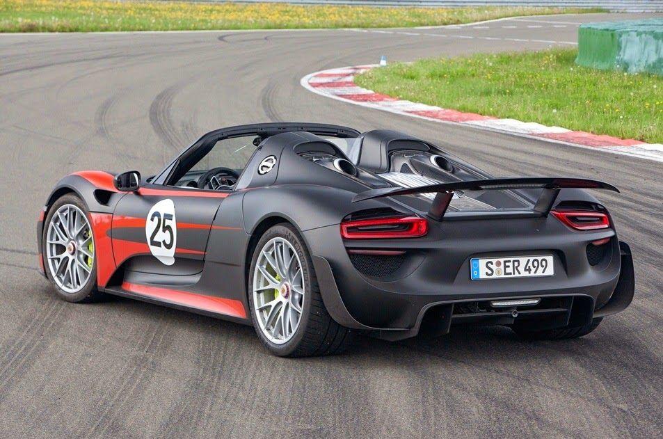 Porsche 918 Spyder détails des technologies embarquées