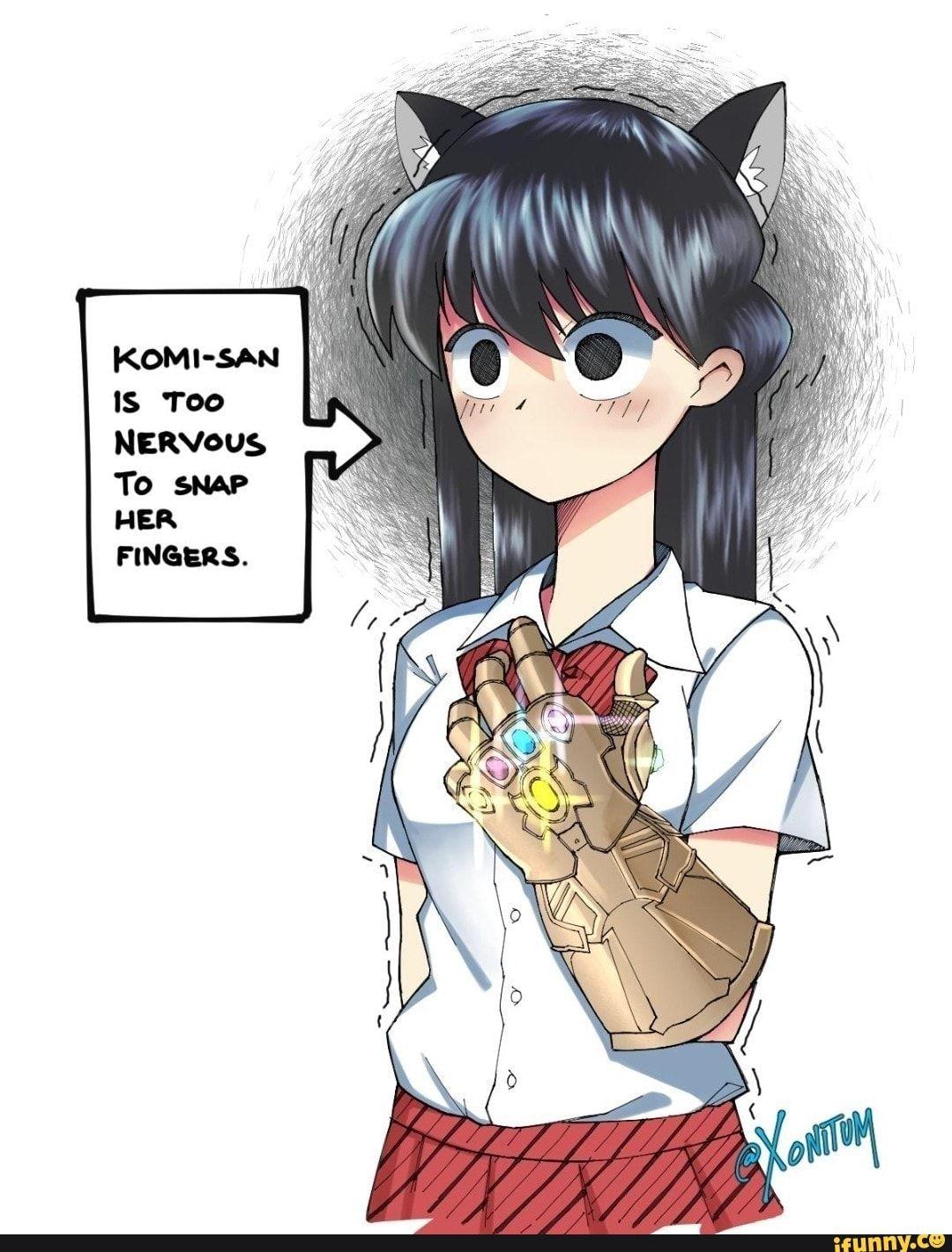 Komi San Is Too Nervous Ifunny Anime Funny Anime Memes Funny Anime Memes