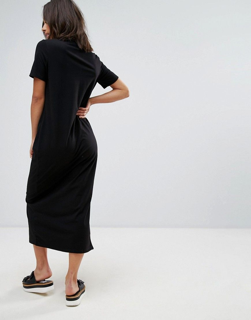 petite t shirt maxi dress
