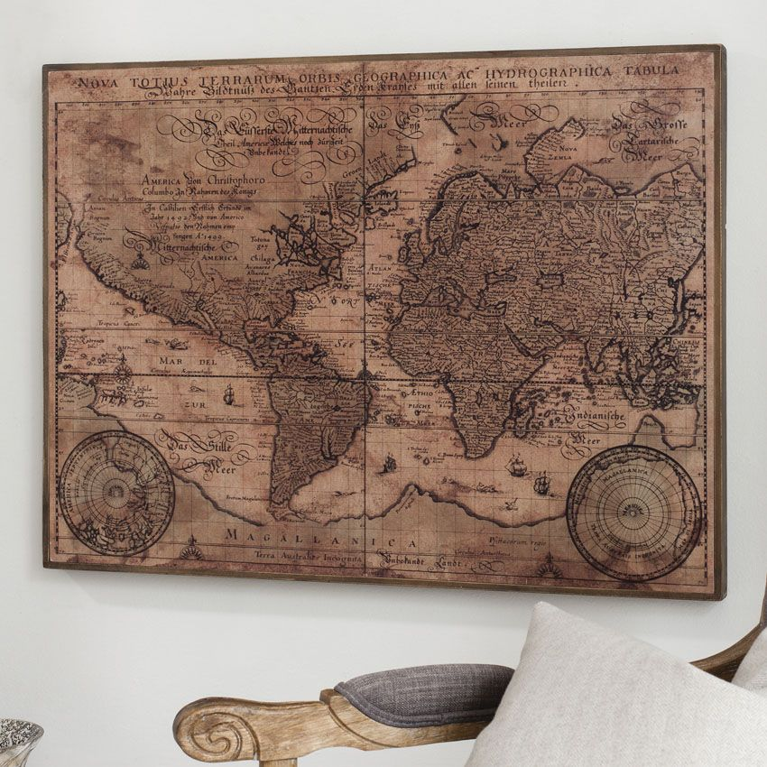 Gallery direct antique world map wall art walls gallery direct antique world map wall art gumiabroncs Image collections