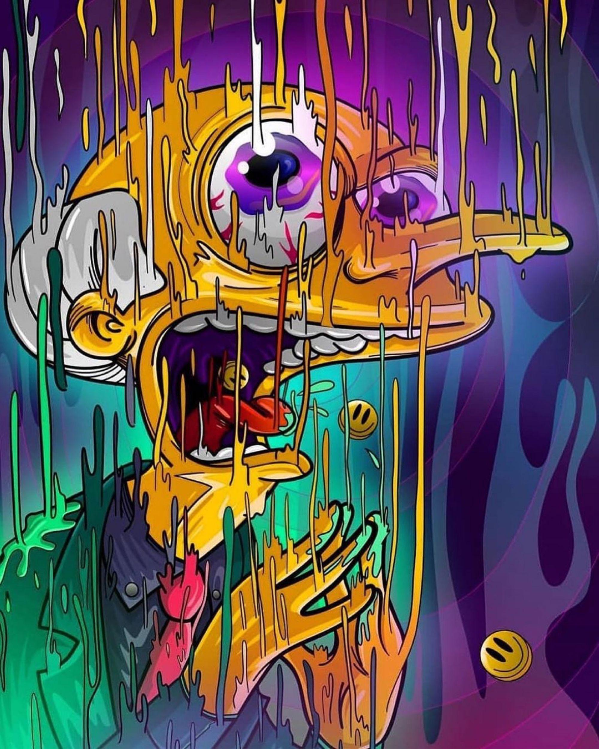 Bart Simpson Trippy Wallpaper : simpson, trippy, wallpaper, Camilo, Oyarzo, Iphone, Simpsons, Simpson, Drawings