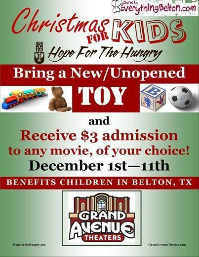 Grand Avenue Theater 3 Movie Tickets Help The Kids Of Belton