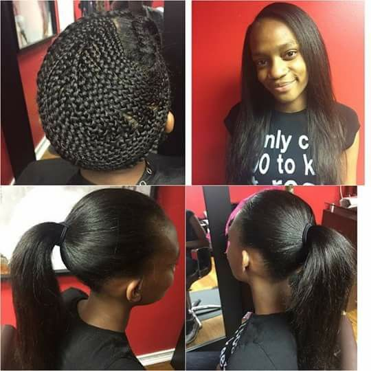 Pin By Chrystaler Mcneal On Weaves Sew In Hair Extensions Sew In Hairstyles Hair Styles