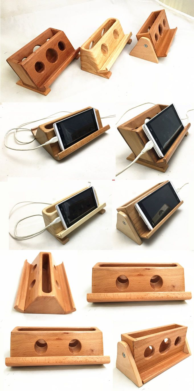 Bamboo wooden ipad smart phone cell phone charger charging station bamboo wooden ipad smart phone cell phone charger charging station holder pen pencil holder business card display stand holder to charge reheart Gallery