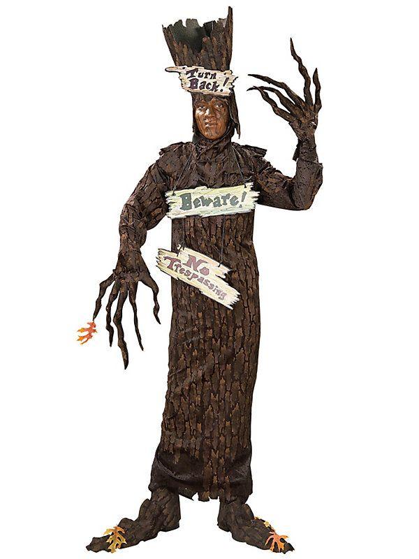 A fun Halloween costume idea - A Haunted Tree!