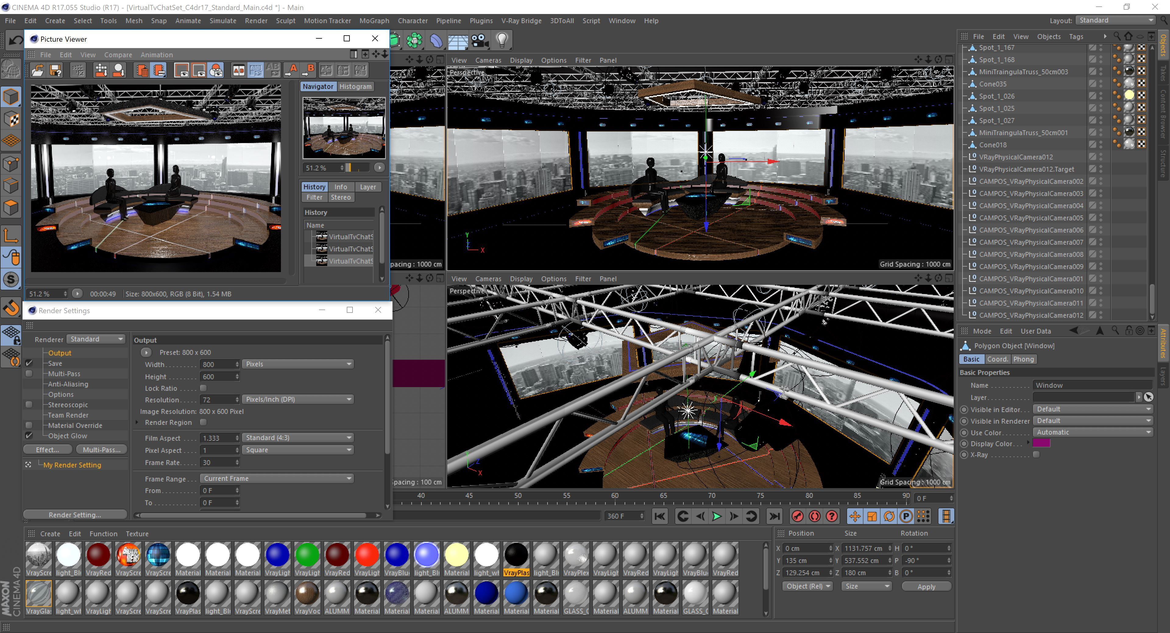 Virtual Tv Studio Chat Set 2 Post Production Studio Studio Technical Drawing