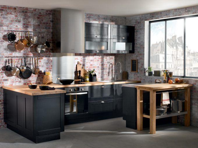 Esprit Bistrot pour la cuisine Voici 20 idées pour vous inspirer - Hauteur Plan De Travail Cuisine Ikea