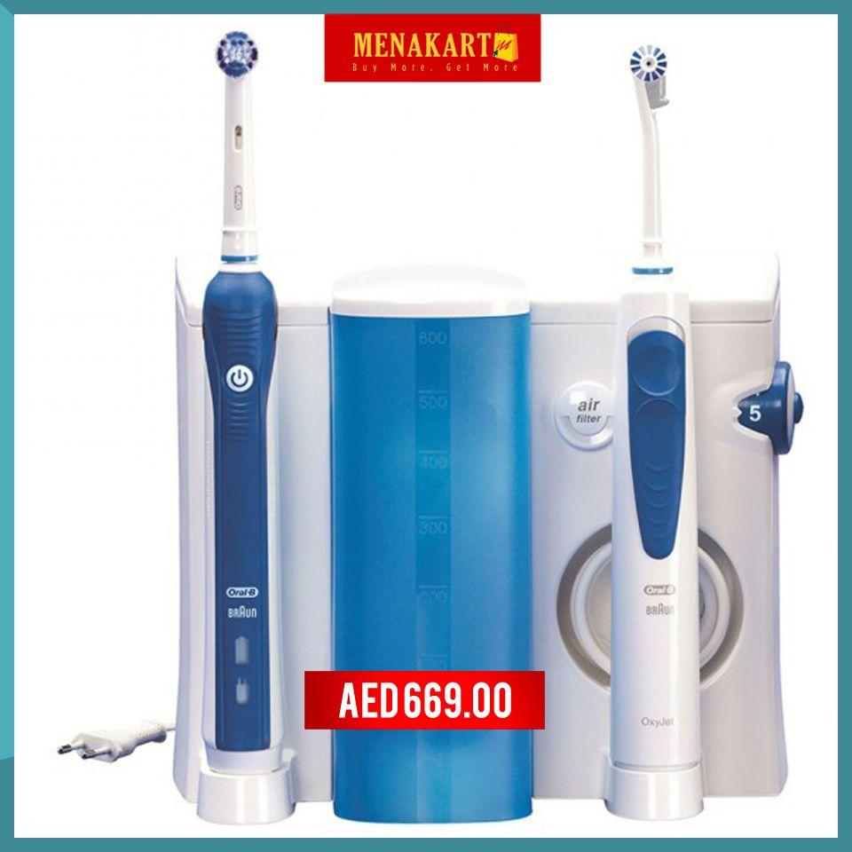 Braun Oral B Power Professional Care Oxyjet Center Irrigator 3d