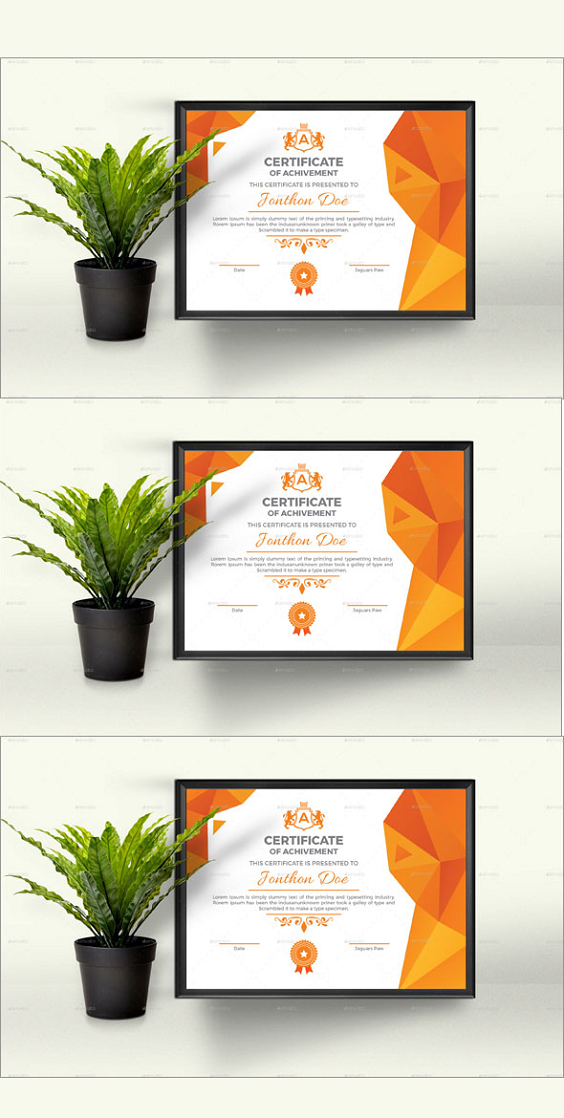Creative Certificate Template in 2020 (With images