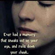 Oh this so happens to me - about all the family I've lost.