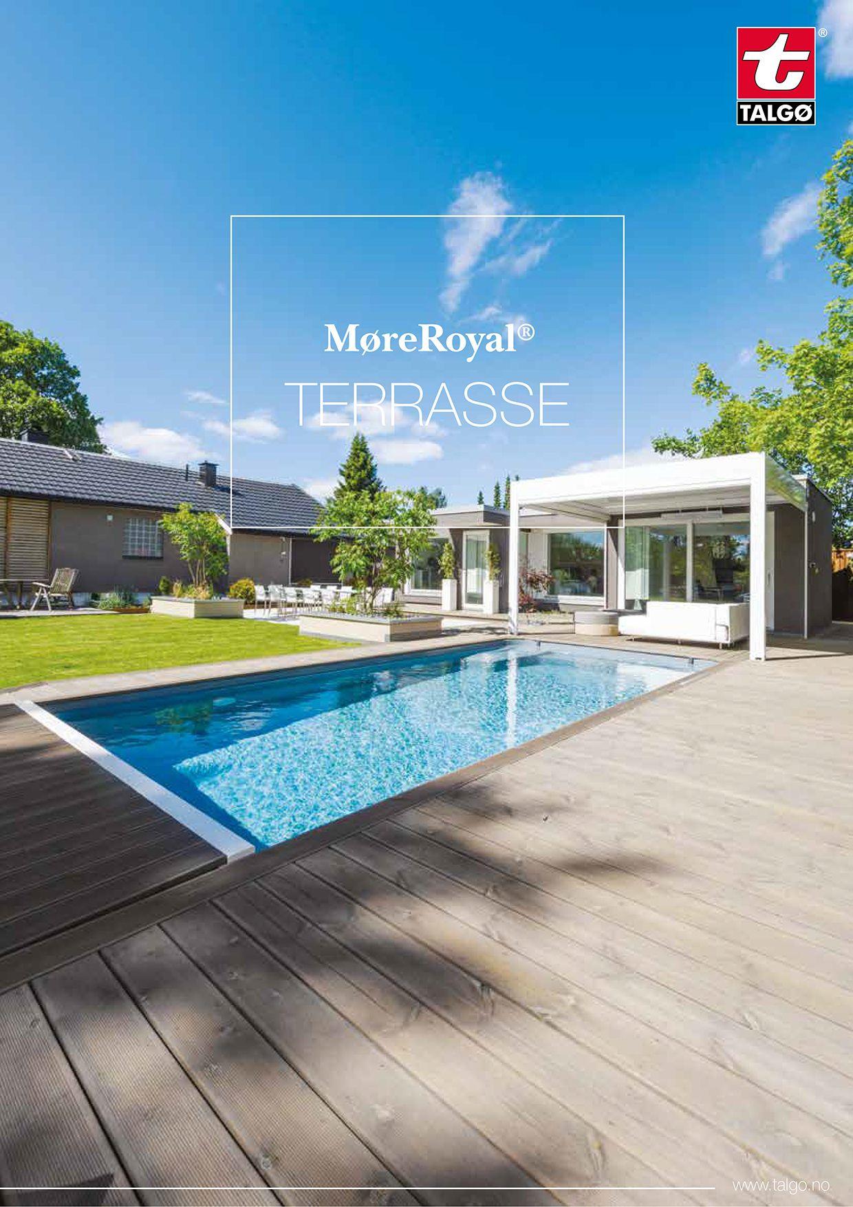Terrassebord i MøreRoyal® er dobbeltbehandlet med impregnering og olje som gir terrassebordene unike egenskaper og mindre flising og sprekking.