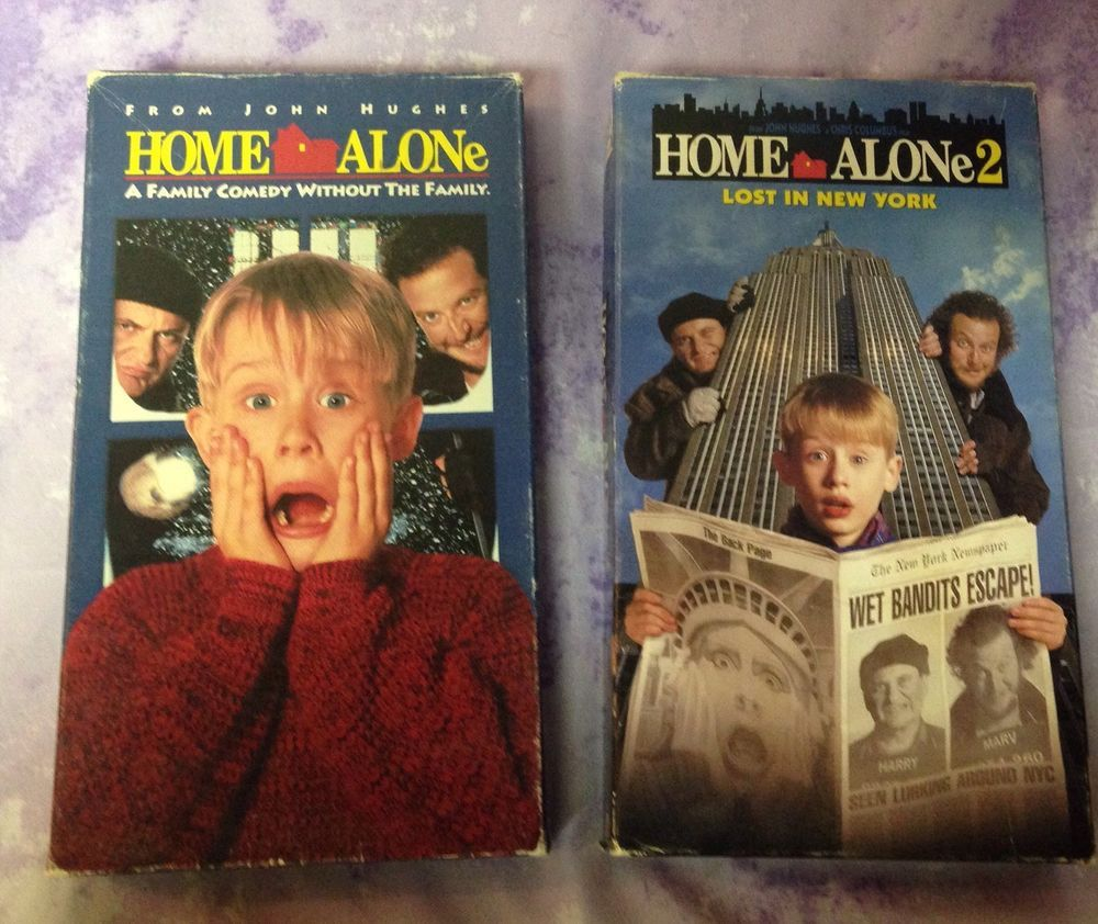 Home Alone 2 VHS LOT Macaulay Culkin Lost In New York