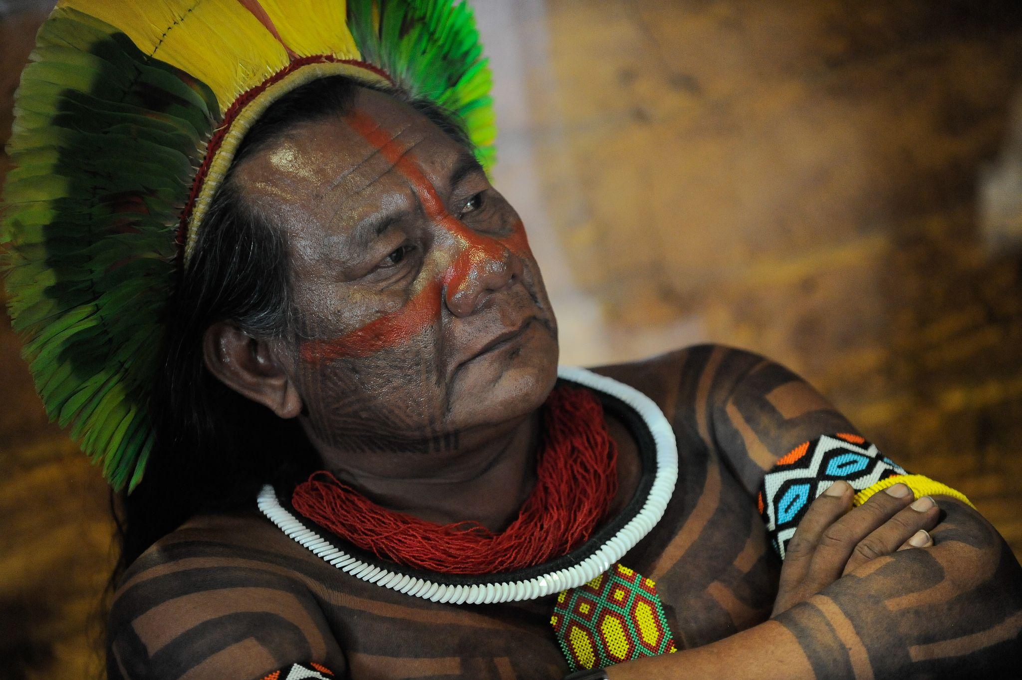 A diretora geral da unesco visita o museu do ndio no rio - Fogli da colorare nativo americano ...