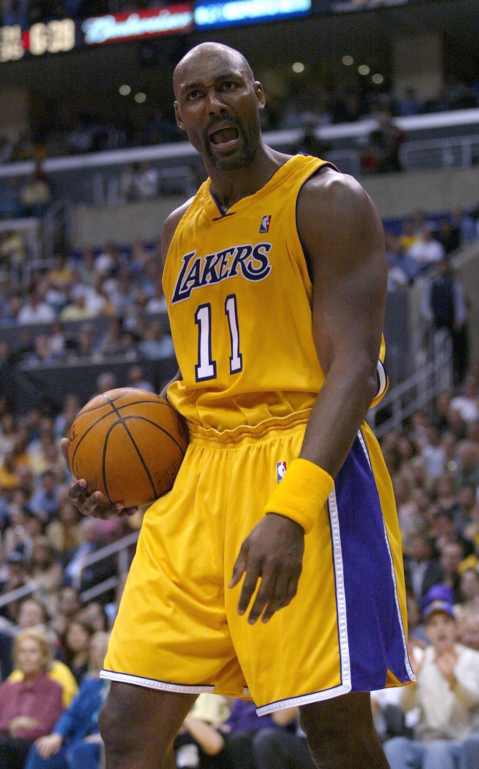 Pin By Kent J Bradley On My Unhealthy Obsession Basketball Photography Karl Malone Los Angeles Lakers
