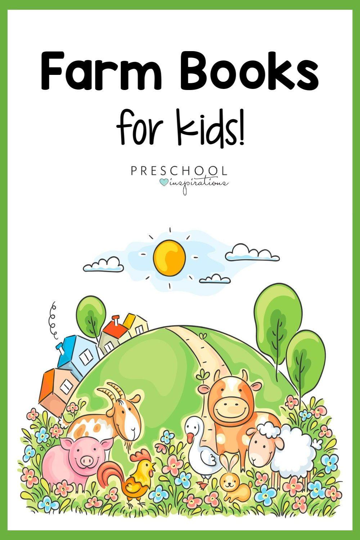 Books on farm animals in 2020 farm animals preschool