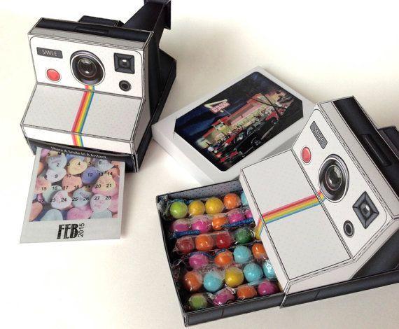 Printable Paper Polaroid Cameras Paper Camera Camera Gift Gift