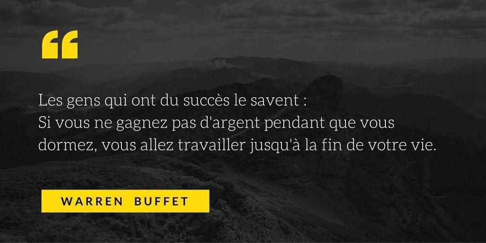 10 Citations De Warren Buffet L Homme D Affaires Americain