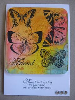 Carla's scrappy tales: Distress ink cards