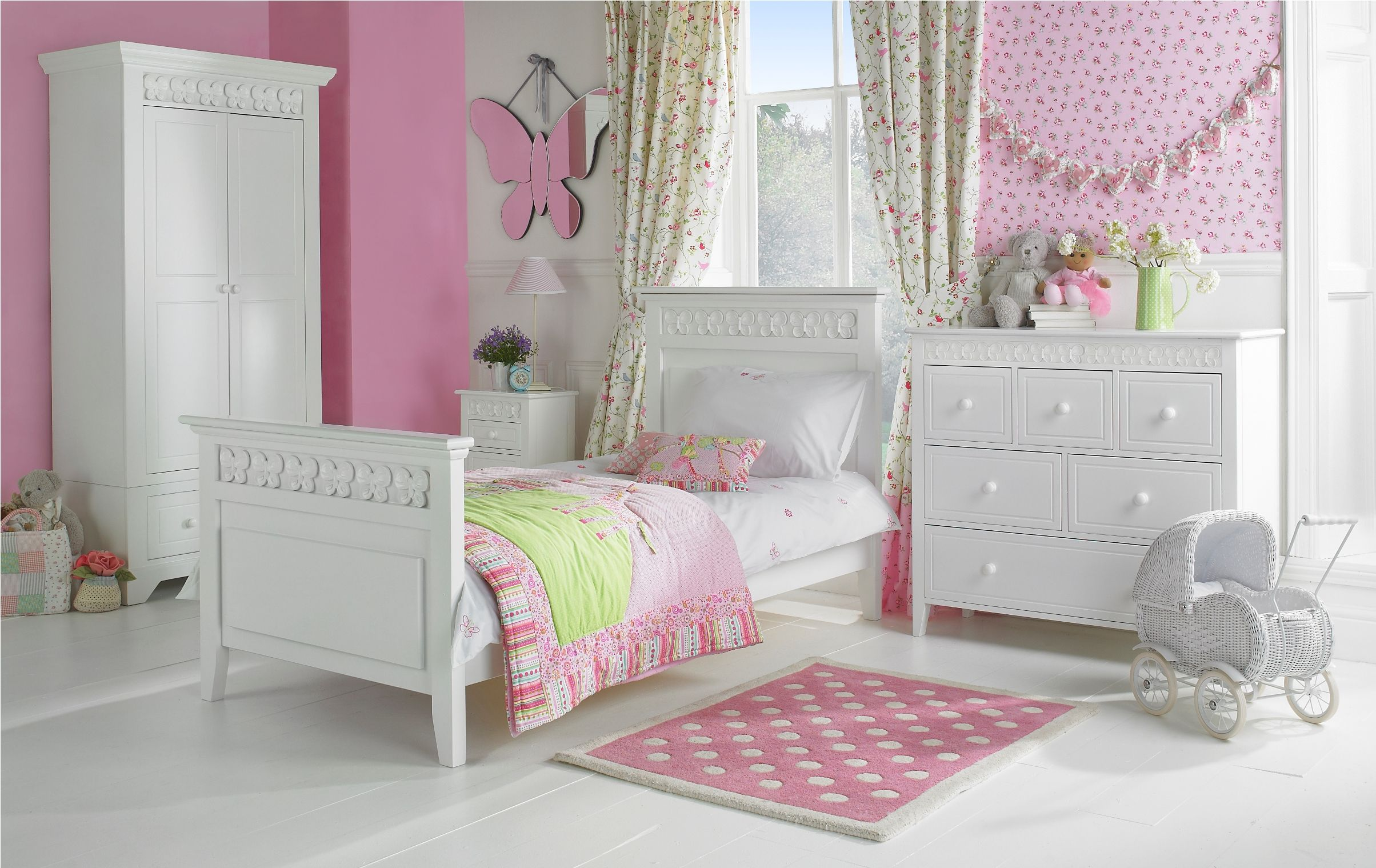 Brilliant Kids Girls Bedroom Furniture Sets White Image3 Furniture Best Kids Bedroom Set Decorating Inspiration