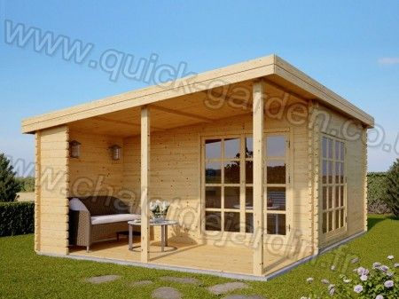 Cozy And Comfortable Log Cabin With Its Beautiful Exterior From Www Quick Garden Co Uk Visit Us Abri De Jardin Abri De Jardin Bois Amenagement Jardin
