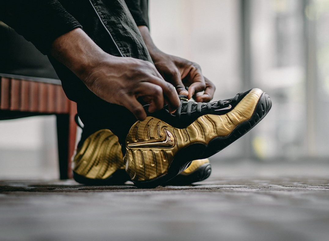 49fd670986c4c Get The Nike Air Foamposite Pro Metallic Gold Today