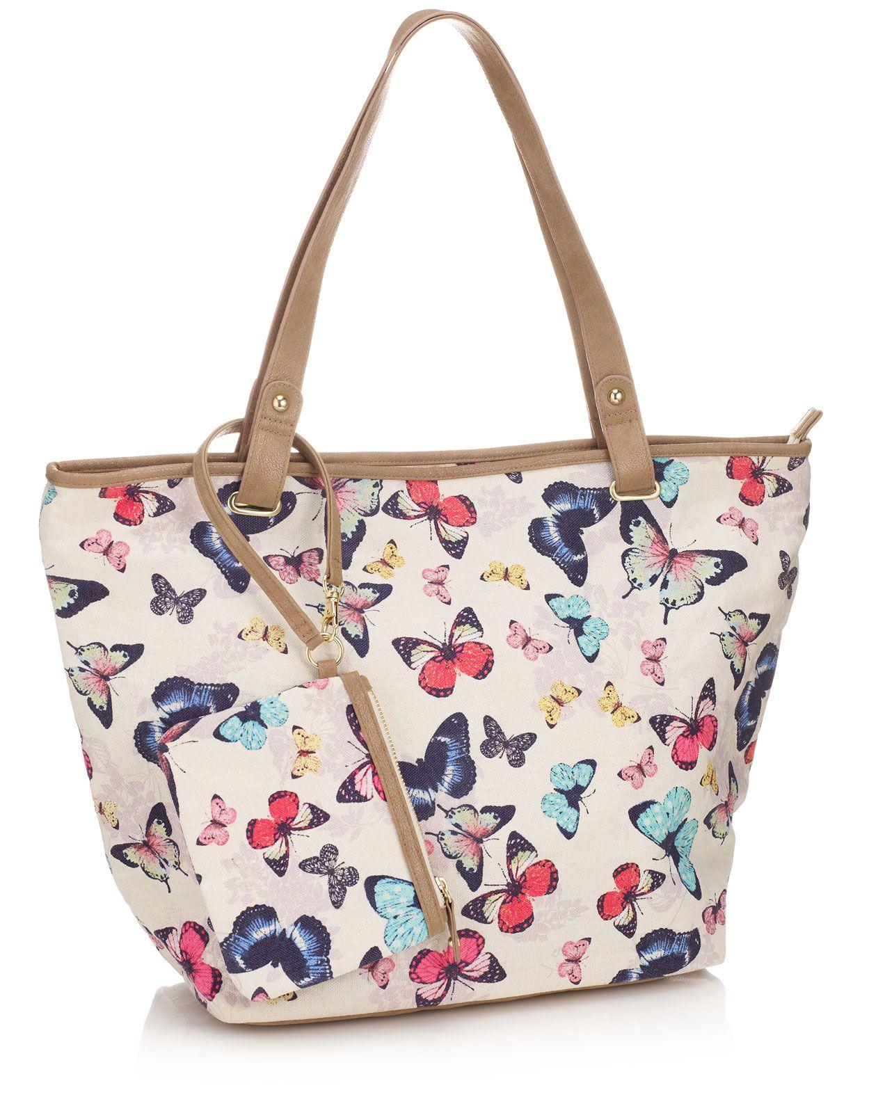 Erfly Bloom Shoulder Bag Multi Accessorize