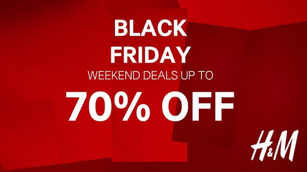 H M Black Friday Weekend Sale Save Up To 70 Off For Limited Time Only Black Friday Weekend Black Friday Weekend Sale