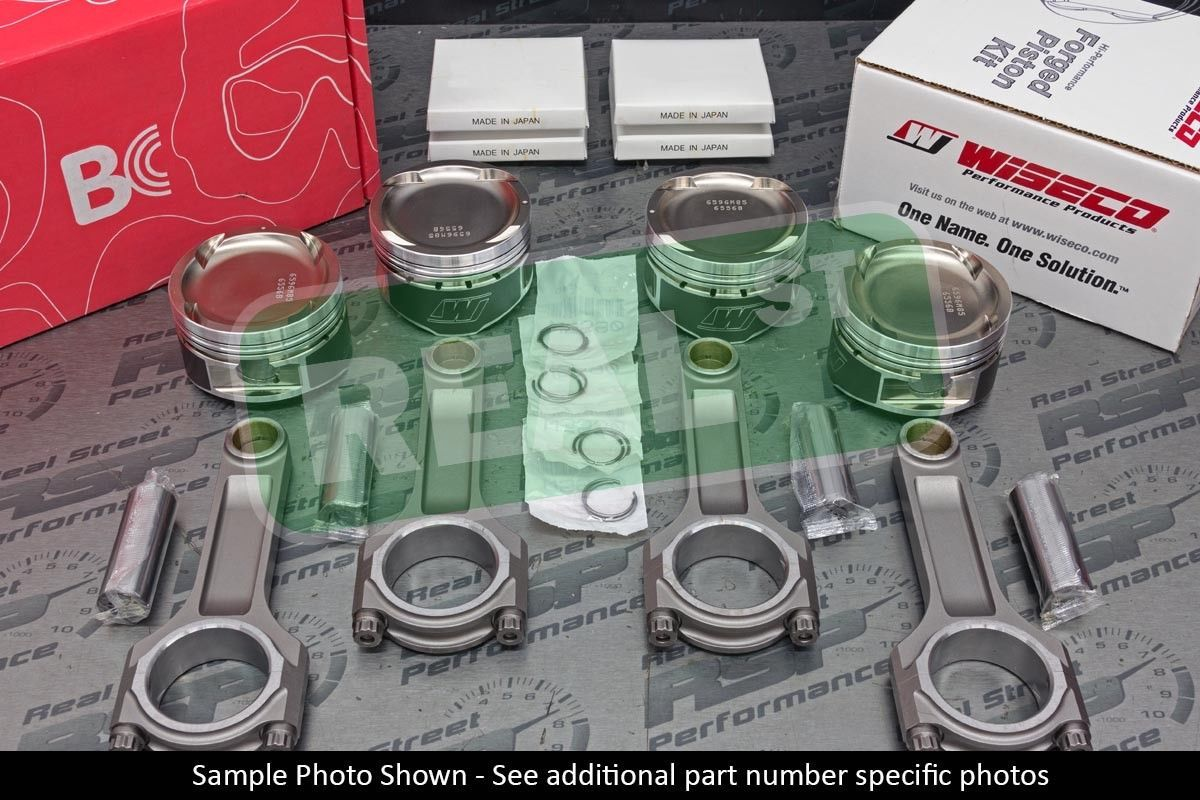 Wiseco Hd Ap Pistons Bc 625 I Beam Rods 100mm 4g63t 7 Bolt 87 5mm 8 9 9 49 1 1 574 05 I Beam Pistons Rods