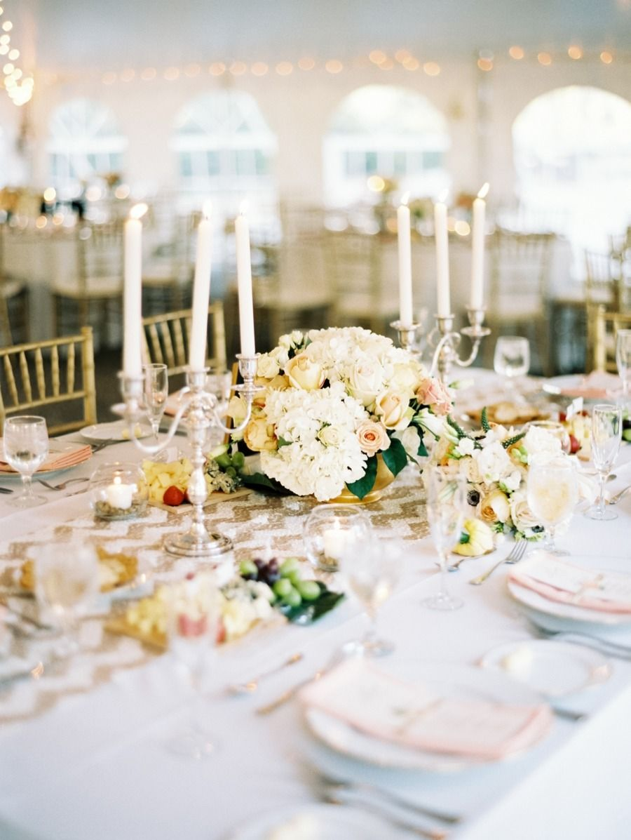 Williamsburg Virginia Wedding | Chevron table, Williamsburg virginia ...