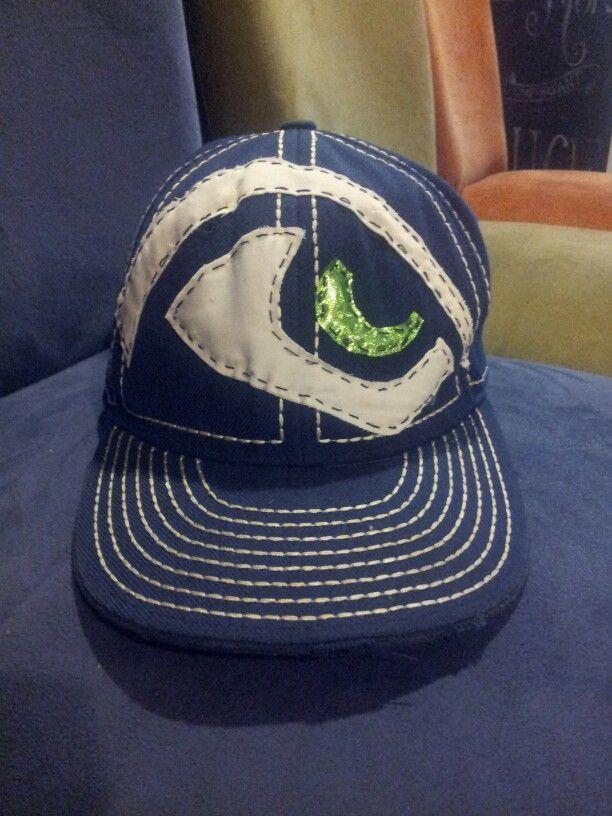Homemade Seahawks hat. Go Seahawks #seahawkfashion
