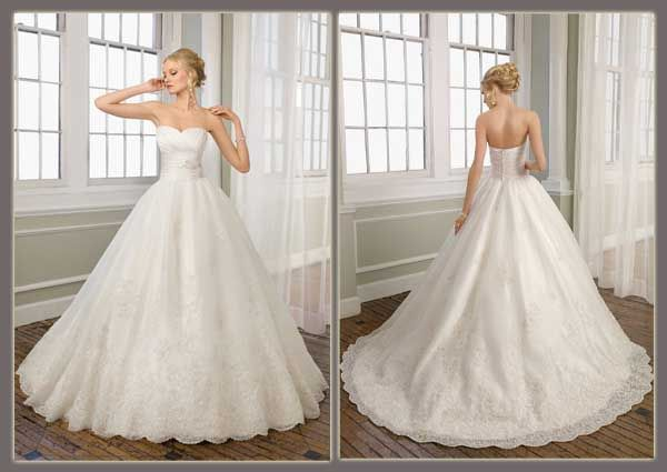 New Fall 2011 Mori Lee Wedding Gowns Have Arrived At