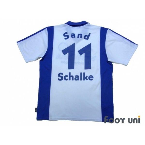 97d819af3 Photo2  Schalke 04 2001-2002 Away Shirt  11 Sand adidas - Football Shirts