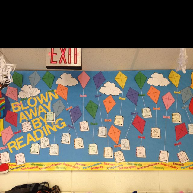 2nd Grade Bulletin Board For Spring!