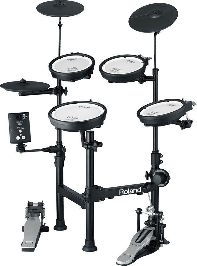 Roland Td 1kpx Portable Electronic Drum Set With Images Drum