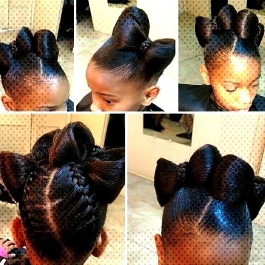 """Braids blackgirl kids Hairstyle For Black Women on Instagram """"#blackhairideas Braids blackgirl k"""