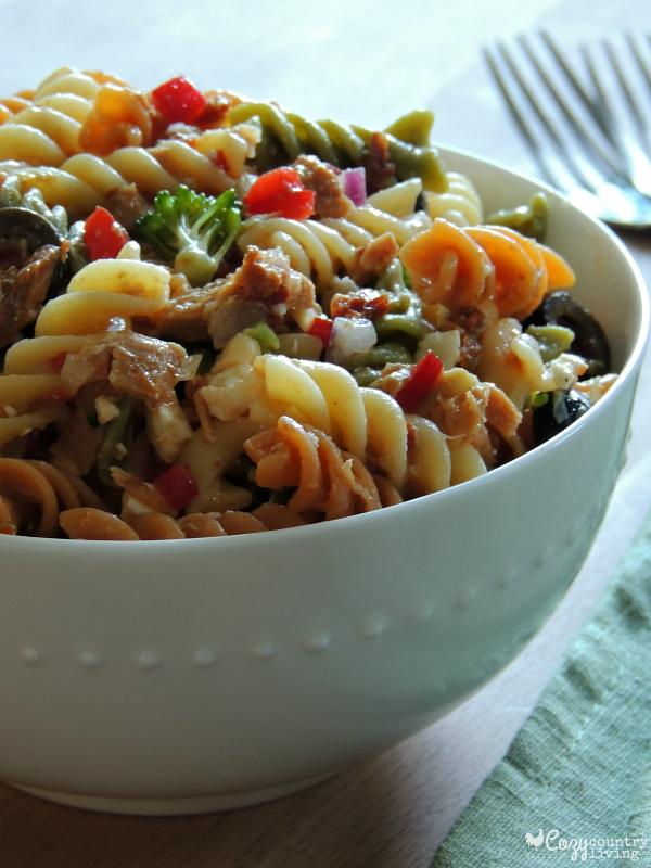 Tuna Pasta Salad Recipe Italian