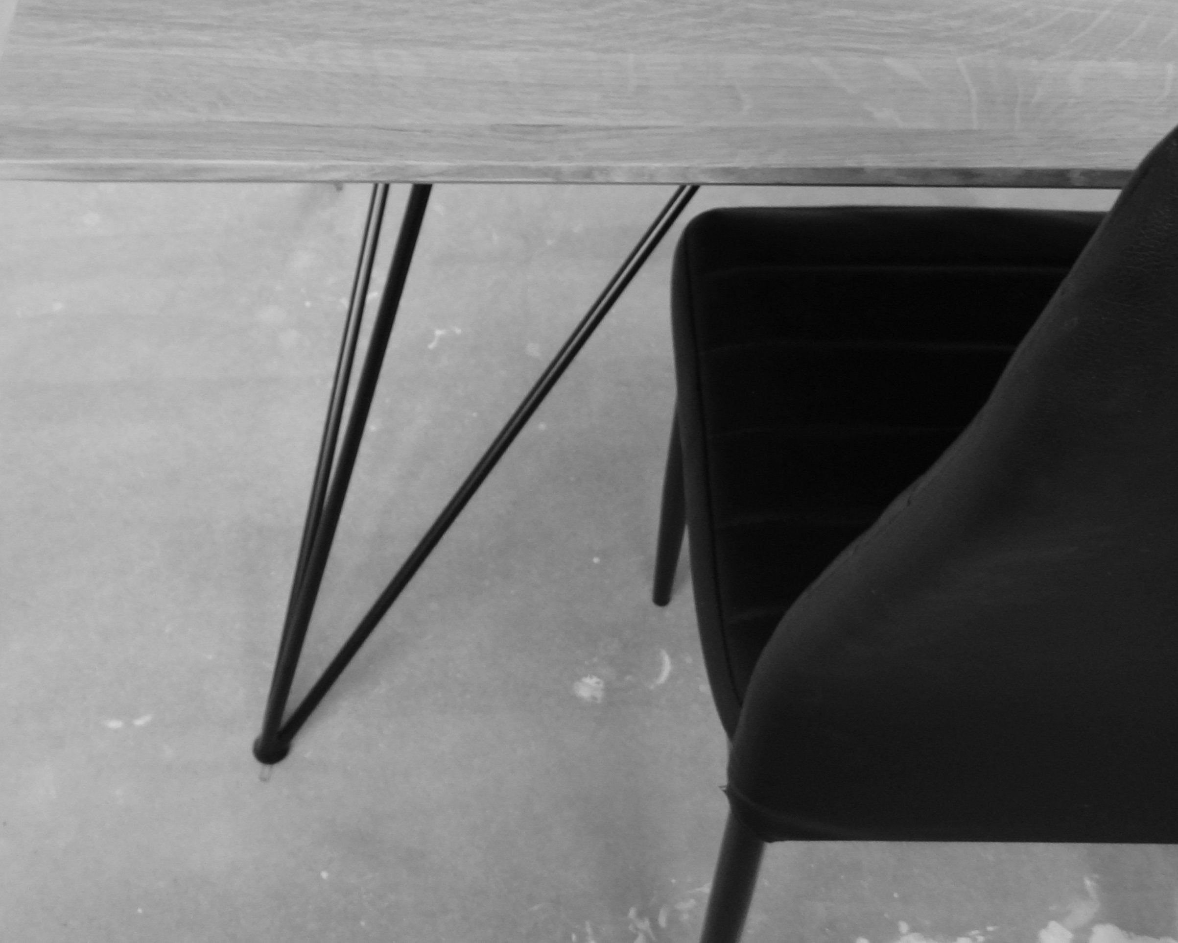 Metall Esstisch Beine Fur Marmor Und Glas Tischplatte
