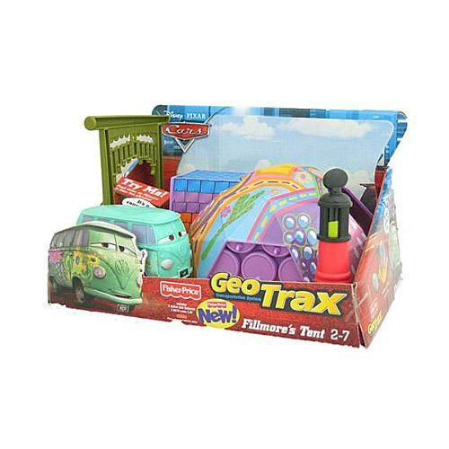 Grab Fillmoreu0027s Tent RCs track packs and other play sets and you can create Main Street in Radiator Springs just like in the Disney Pixar Cars movie!  sc 1 st  Pinterest & Fisher-Price Geo Trax Fillmoreu0027s Tent$24.99 | TOYS TOYS TOYS ...