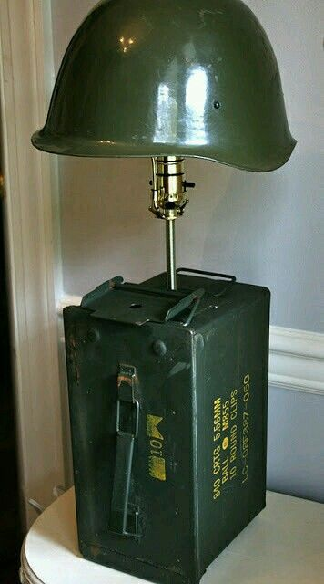 Ammo Can Lamp