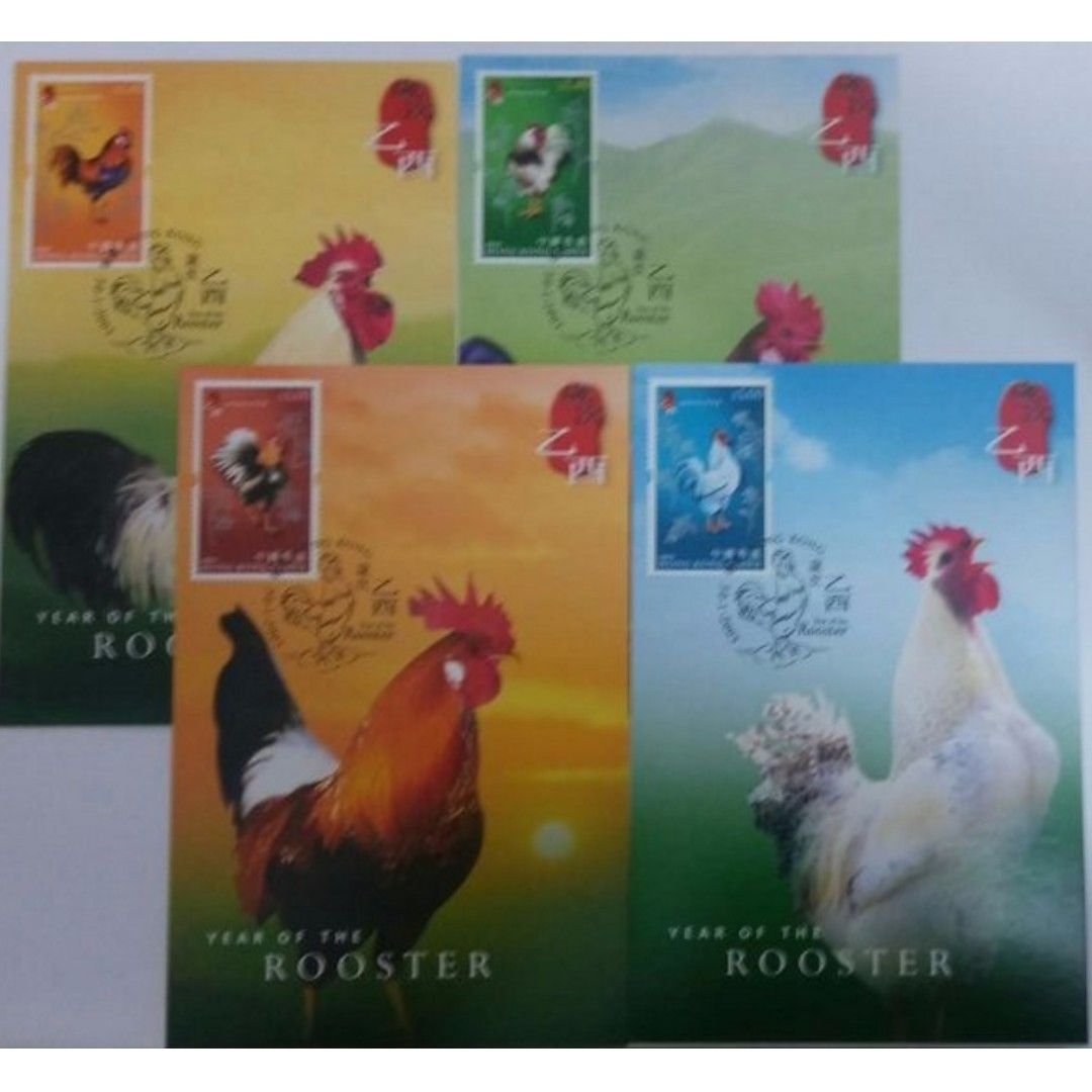 Buy (CTO) 2005 Hong Kong PostCard - Lunar Rooster in Singapore,Singapore. 2005 Hong Kong PostCard - Lunar Rooster (CTO)  Perfect Condition Get great deals on Stamps Chat to Buy
