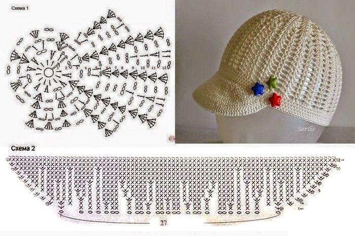 modele-crochet-gorro-femme (27) | Gorros | Pinterest | Gorros, Pelo ...