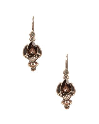 Fascinating 925 Sterling Silver And Semi-Precious Stone Earrings   Rs. 700   http://voylla.com