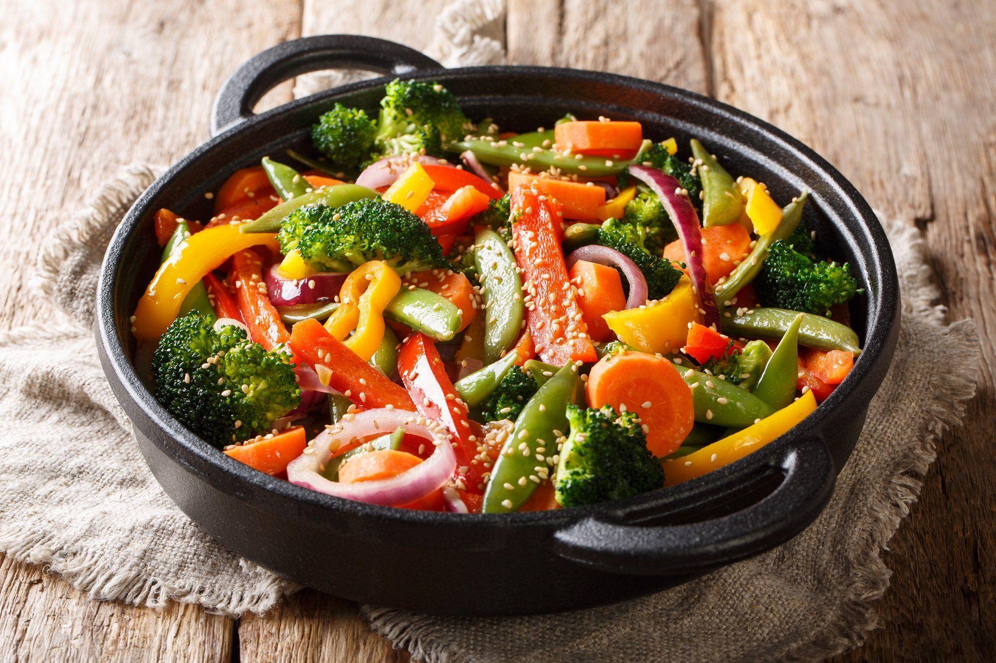 Sauté de légumes à l'indonésienne (avec images) | Légumes ...