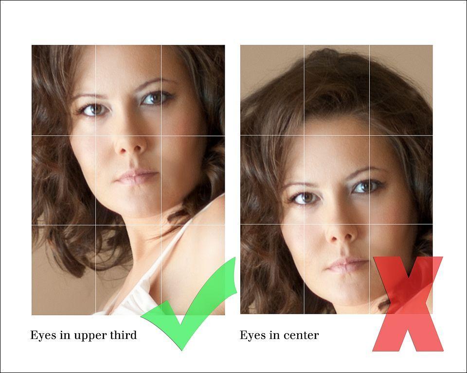 Ошибки в кадрировании фото