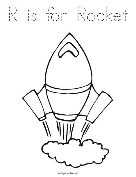 Rocket Coloring Page | Kids | Pinterest