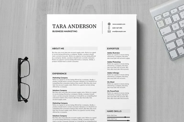 75 Best Free Resume Templates of 2019 Indesign resume
