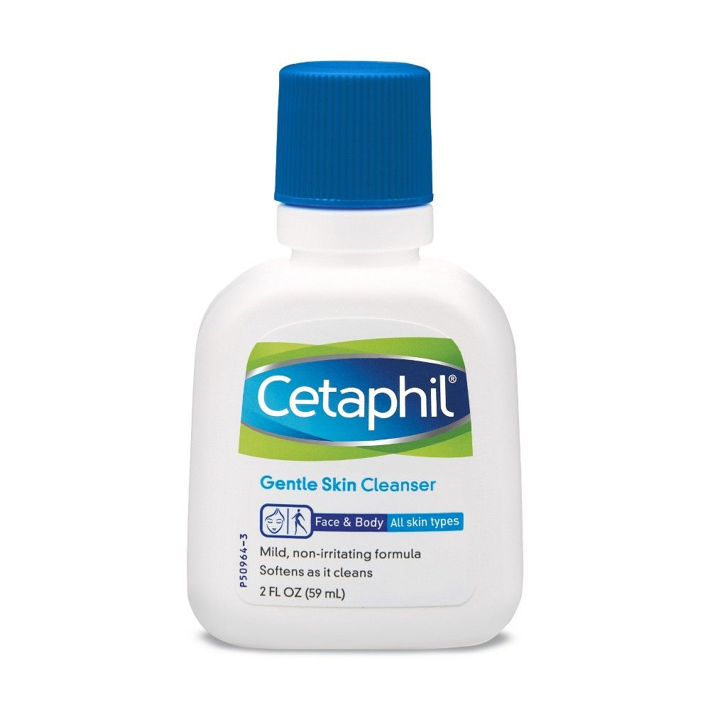 Cetaphil Gentle Skin Cleanser Unscented 2oz Cetaphil Cleanser