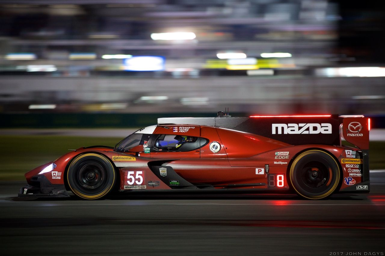 Mazda Race car by Daytona Race Gallery - Sportscar365   24 hours of ...